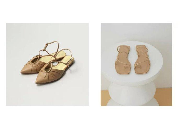 【Odette e Odile/オデット エ オディール】のOID ギャザーバックベルト FLT15&【ADAM ET ROPE'/アダム エ ロペ】の【2WAY】チューブストラップレザーフラット 【シューズ・靴】おすすめ!人気、トレンド・レディースファッションの通販 おすすめ人気トレンドファッション通販アイテム インテリア・キッズ・メンズ・レディースファッション・服の通販 founy(ファニー) https://founy.com/ ファッション Fashion レディースファッション WOMEN バッグ Bag ベルト Belts ギャザー シューズ フラット 春 Spring サンダル トレンド ネイル バランス ビーチ マキシ ミュール ラップ リゾート 2021年 2021 S/S・春夏 SS・Spring/Summer 2021春夏・S/S SS/Spring/Summer/2021 おすすめ Recommend  ID:crp329100000043166
