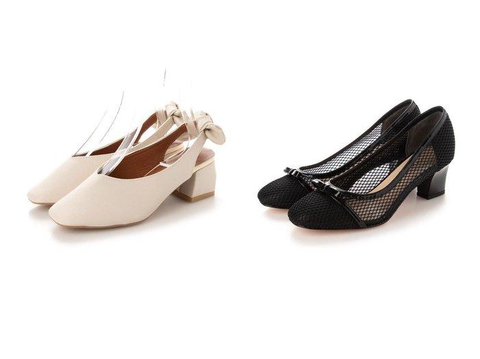 【JILLSTUART shoe/ジルスチュアート シュー】のリボンモチーフメッシュパンプス&【SVEC/シュベック】のチャンキーヒールリボンミュール 【シューズ・靴】おすすめ!人気、トレンド・レディースファッションの通販 おすすめ人気トレンドファッション通販アイテム 人気、トレンドファッション・服の通販 founy(ファニー)  ファッション Fashion レディースファッション WOMEN 2021年 2021 2021春夏・S/S SS/Spring/Summer/2021 S/S・春夏 SS・Spring/Summer シンプル リボン 春 Spring |ID:crp329100000043173