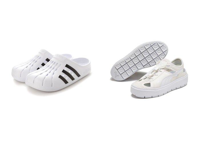 【adidas/アディダス】のアディダス サンダル FY8970&【PUMA/プーマ】のPLATFORM TRACE LITE MULE 【シューズ・靴】おすすめ!人気、トレンド・レディースファッションの通販 おすすめ人気トレンドファッション通販アイテム 人気、トレンドファッション・服の通販 founy(ファニー)  ファッション Fashion レディースファッション WOMEN サンダル スポーツ スマート リラックス 春 Spring クッション 軽量 シューズ 定番 Standard 人気 フォーム ランニング 2021年 2021 S/S・春夏 SS・Spring/Summer 2021春夏・S/S SS/Spring/Summer/2021 |ID:crp329100000043176
