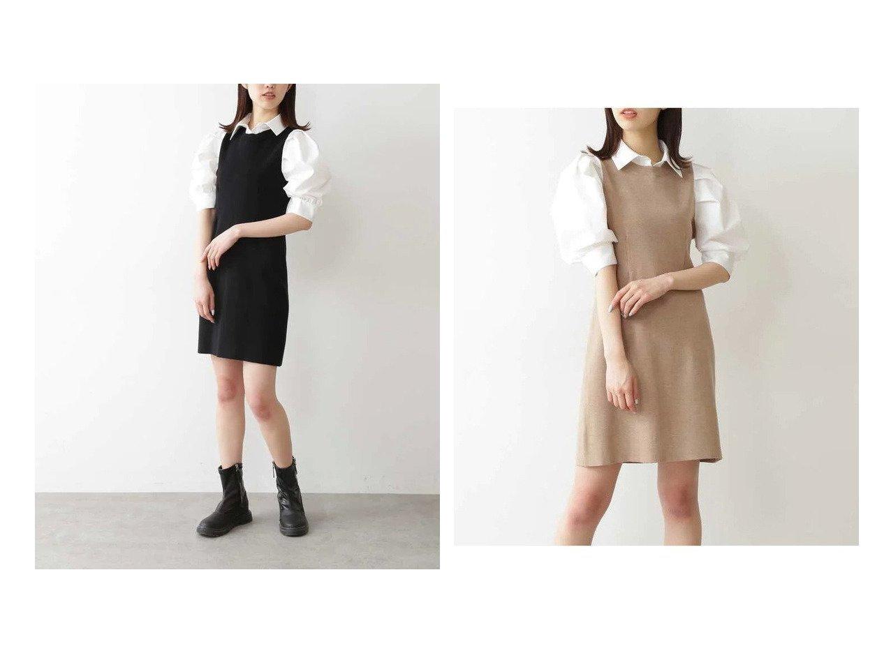 【FREE'S MART/フリーズマート】の布帛ドッキング衿付き半袖ミニワンピース 【ワンピース・ドレス】おすすめ!人気、トレンド・レディースファッションの通販 おすすめで人気の流行・トレンド、ファッションの通販商品 インテリア・家具・メンズファッション・キッズファッション・レディースファッション・服の通販 founy(ファニー) https://founy.com/ ファッション Fashion レディースファッション WOMEN ワンピース Dress ギャザー ショルダー ドッキング 半袖 |ID:crp329100000043404