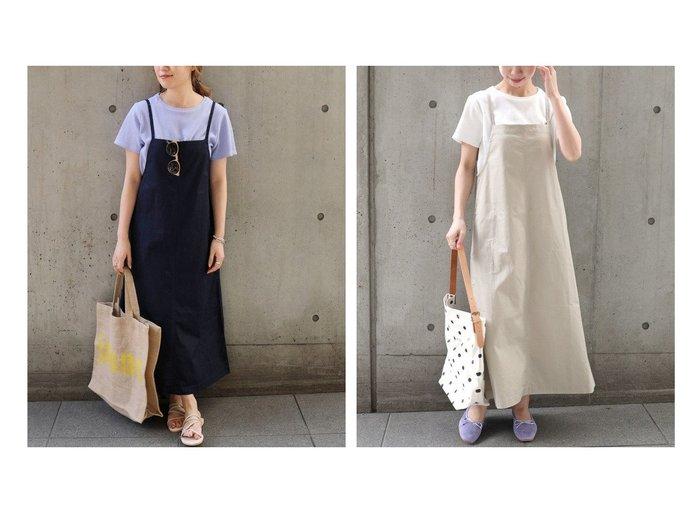【SHIPS any/シップス エニィ】のSHIPS any TEEセット ジャンパースカート 【ワンピース・ドレス】おすすめ!人気、トレンド・レディースファッションの通販 おすすめ人気トレンドファッション通販アイテム 人気、トレンドファッション・服の通販 founy(ファニー) ファッション Fashion レディースファッション WOMEN スカート Skirt インナー コンパクト スリット ヘリンボーン 半袖 ワッフル 再入荷 Restock/Back in Stock/Re Arrival |ID:crp329100000043406