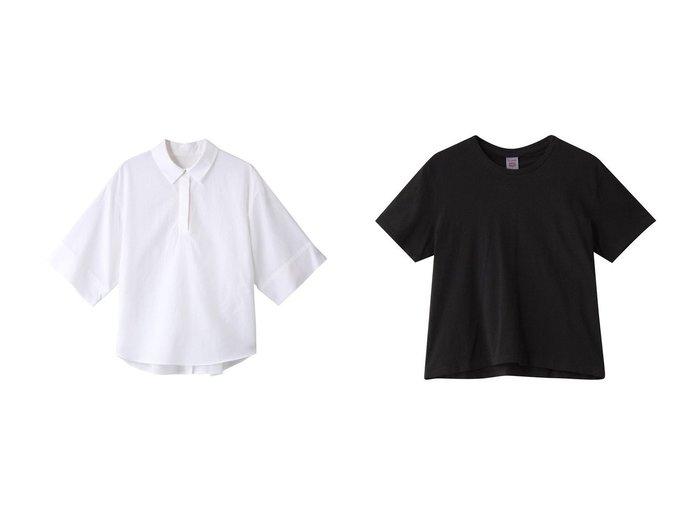 【allureville/アルアバイル】のCブロードバック釦シャツ&【Whim Gazette/ウィムガゼット】の【DONE】BOXY Tシャツ 【トップス・カットソー】おすすめ!人気トレンド・レディースファッション通販 おすすめ人気トレンドファッション通販アイテム インテリア・キッズ・メンズ・レディースファッション・服の通販 founy(ファニー) https://founy.com/ ファッション Fashion レディースファッション WOMEN トップス・カットソー Tops/Tshirt シャツ/ブラウス Shirts/Blouses ロング / Tシャツ T-Shirts カットソー Cut and Sewn バッグ Bag ショート スリーブ バランス ベーシック ロング ワイド ブロード 半袖 |ID:crp329100000043505