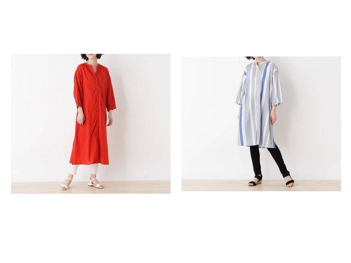 【SHOO LA RUE/シューラルー】のドビーストライプAラインワンピース&麻混ローンガウンワンピース 【プチプライス・低価格】おすすめ!人気トレンド・レディースファッション通販 おすすめ人気トレンドファッション通販アイテム 人気、トレンドファッション・服の通販 founy(ファニー) ファッション Fashion レディースファッション WOMEN ワンピース Dress Aラインワンピース A-line Dress 2021年 2021 2021春夏・S/S SS/Spring/Summer/2021 S/S・春夏 SS・Spring/Summer おすすめ Recommend インナー ガウン シアー スリット ドレス ボトム ポケット 春 Spring |ID:crp329100000043626