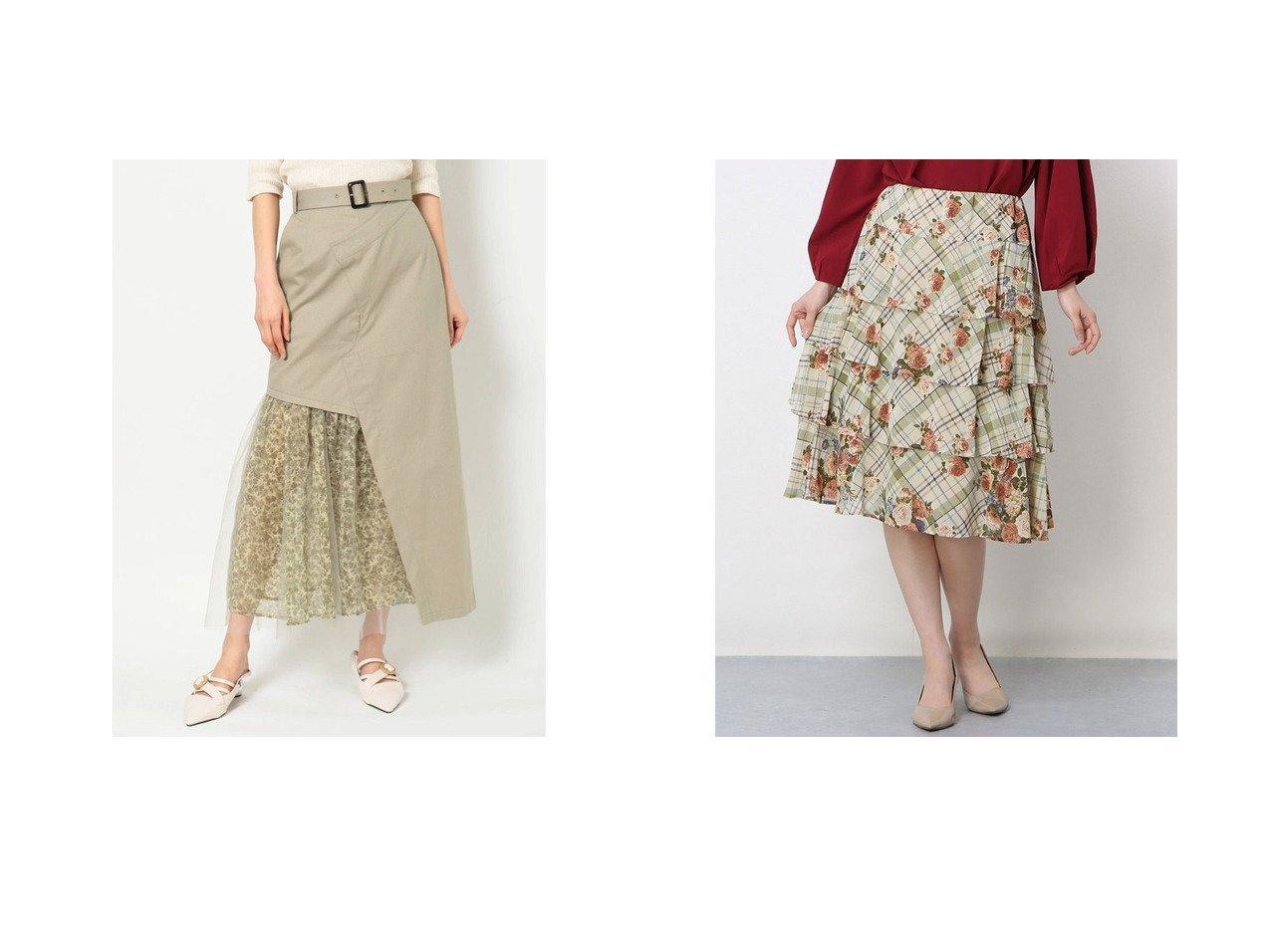 【Rename/リネーム】のフラワーチェックティアードスカート&【MURUA/ムルーア】のMURUA ミニマルフラワードッキングスカート おすすめ!人気トレンド・レディースファッション通販 おすすめで人気の流行・トレンド、ファッションの通販商品 インテリア・家具・メンズファッション・キッズファッション・レディースファッション・服の通販 founy(ファニー) https://founy.com/ ファッション Fashion レディースファッション WOMEN スカート Skirt ティアードスカート Tiered Skirts 2021年 2021 2021春夏・S/S SS/Spring/Summer/2021 S/S・春夏 SS・Spring/Summer サンダル シアー シンプル 春 Spring |ID:crp329100000043710