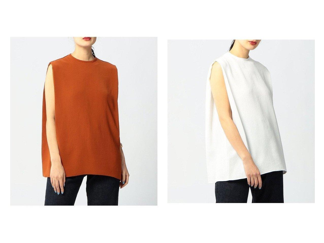 【EDITION / TOMORROWLAND/エディション】の【WEB限定】PE Georgette タックスリーブレスブラウス 別注・限定・コラボなど、おすすめ!人気トレンド・レディースファッション通販 おすすめで人気の流行・トレンド、ファッションの通販商品 インテリア・家具・メンズファッション・キッズファッション・レディースファッション・服の通販 founy(ファニー) https://founy.com/ ファッション Fashion レディースファッション WOMEN トップス・カットソー Tops/Tshirt キャミソール / ノースリーブ No Sleeves シャツ/ブラウス Shirts/Blouses NEW・新作・新着・新入荷 New Arrivals カットソー キャミソール ノースリーブ |ID:crp329100000043906