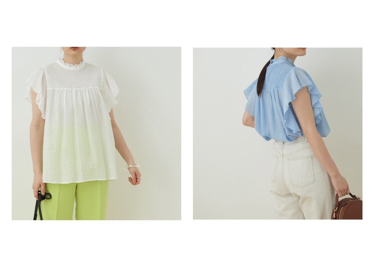 【ADAM ET ROPE'/アダム エ ロペ】の【WEB限定】シアーフリルスリーブシャーリングシャツ 別注・限定・コラボなど、おすすめ!人気トレンド・レディースファッション通販 おすすめで人気の流行・トレンド、ファッションの通販商品 インテリア・家具・メンズファッション・キッズファッション・レディースファッション・服の通販 founy(ファニー) https://founy.com/ ファッション Fashion レディースファッション WOMEN トップス・カットソー Tops/Tshirt シャツ/ブラウス Shirts/Blouses 春 Spring 今季 シアー シャーリング トレンド フリル ボトム ポケット ヨーク 2021年 2021 S/S・春夏 SS・Spring/Summer 2021春夏・S/S SS/Spring/Summer/2021 NEW・新作・新着・新入荷 New Arrivals おすすめ Recommend |ID:crp329100000043913
