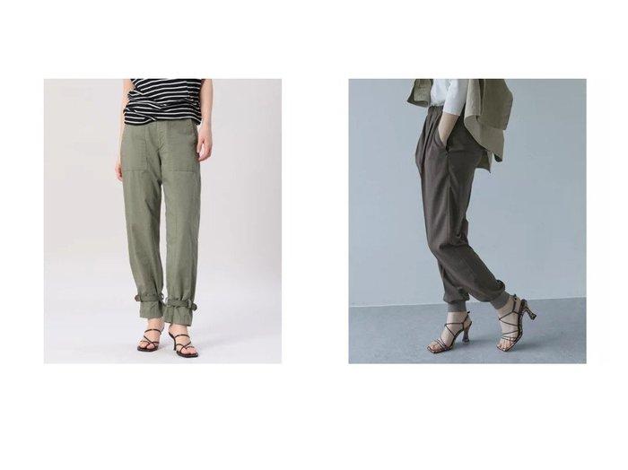 【INED/イネド】の《Maison de Beige》ミリタリーパンツ&【GALLARDAGALANTE/ガリャルダガランテ】のジャージージョガーパンツ 【パンツ】おすすめ!人気、トレンド・レディースファッションの通販 おすすめ人気トレンドファッション通販アイテム 人気、トレンドファッション・服の通販 founy(ファニー) ファッション Fashion レディースファッション WOMEN パンツ Pants おすすめ Recommend トレンド ポケット ミリタリー アンクル インナー 春 Spring 秋 Autumn/Fall カットソー 今季 シンプル ジャケット ジャージー スウェット ストレッチ セットアップ 定番 Standard 人気 バランス リラックス ロング |ID:crp329100000043939