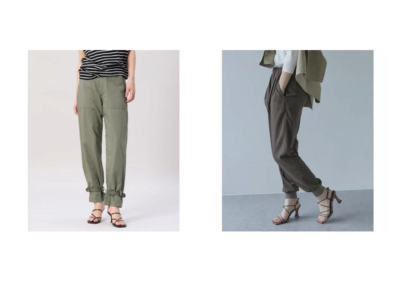 【INED/イネド】の《Maison de Beige》ミリタリーパンツ&【GALLARDAGALANTE/ガリャルダガランテ】のジャージージョガーパンツ 【パンツ】おすすめ!人気、トレンド・レディースファッションの通販 おすすめで人気の流行・トレンド、ファッションの通販商品 インテリア・家具・メンズファッション・キッズファッション・レディースファッション・服の通販 founy(ファニー) https://founy.com/ ファッション Fashion レディースファッション WOMEN パンツ Pants おすすめ Recommend トレンド ポケット ミリタリー アンクル インナー 春 Spring 秋 Autumn/Fall カットソー 今季 シンプル ジャケット ジャージー スウェット ストレッチ セットアップ 定番 Standard 人気 バランス リラックス ロング  ID:crp329100000043939