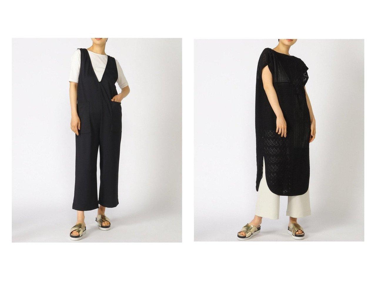 【LOWRYS FARM/ローリーズファーム】のスカシガラニットワンピNS&Vネックアキサロペット 【プチプライス・低価格】おすすめ!人気トレンド・レディースファッション通販 おすすめで人気の流行・トレンド、ファッションの通販商品 インテリア・家具・メンズファッション・キッズファッション・レディースファッション・服の通販 founy(ファニー) https://founy.com/ ファッション Fashion レディースファッション WOMEN ワンピース Dress ニットワンピース Knit Dresses チュニック Tunic NEW・新作・新着・新入荷 New Arrivals おすすめ Recommend カットソー サロペット シアー ジーンズ ストレッチ ポケット アンティーク チュニック パッチワーク リボン 透かし  ID:crp329100000043982