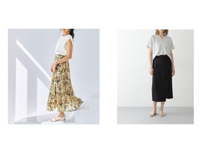 【BOSCH/ボッシュ】のVISハイツイストセットアップスカート&【KUMIKYOKU/組曲】の【KMKK】ニュアンスフラワープリント スカート 【スカート】おすすめ!人気、トレンド・レディースファッションの通販 おすすめ人気トレンドファッション通販アイテム 人気、トレンドファッション・服の通販 founy(ファニー) ファッション Fashion レディースファッション WOMEN スカート Skirt セットアップ Setup スカート Skirt コンパクト セットアップ プリント ベーシック リラックス ロング 2021年 2021 S/S・春夏 SS・Spring/Summer 2021春夏・S/S SS/Spring/Summer/2021 送料無料 Free Shipping アシンメトリー イレギュラー スリム ヘムライン ラップ ワイド |ID:crp329100000044057