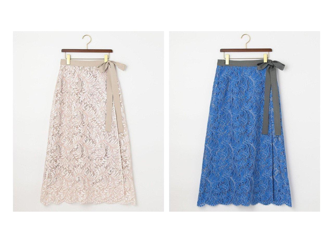 【JIYU-KU/自由区】の【Class Lounge】ソフィアレット レース ラップ スカート 【スカート】おすすめ!人気、トレンド・レディースファッションの通販 おすすめで人気の流行・トレンド、ファッションの通販商品 インテリア・家具・メンズファッション・キッズファッション・レディースファッション・服の通販 founy(ファニー) https://founy.com/ ファッション Fashion レディースファッション WOMEN スカート Skirt エレガント コレクション フォルム フランス ペチコート モダン モチーフ ラップ リボン リーフ レース 2021年 2021 S/S・春夏 SS・Spring/Summer 2021春夏・S/S SS/Spring/Summer/2021 送料無料 Free Shipping 日本製 Made in Japan |ID:crp329100000044060