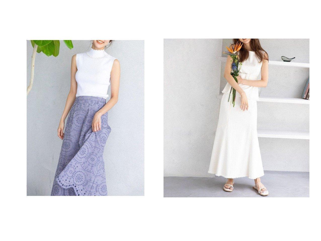 【TOCCA/トッカ】の【TOCCA LAVENDER】FOODTEXTILE Embroidery Skirt スカート&【TOCCA LAVENDER】【SET UP】Eco Denim Skirt スカート 【スカート】おすすめ!人気、トレンド・レディースファッションの通販 おすすめで人気の流行・トレンド、ファッションの通販商品 インテリア・家具・メンズファッション・キッズファッション・レディースファッション・服の通販 founy(ファニー) https://founy.com/ ファッション Fashion レディースファッション WOMEN スカート Skirt デニムスカート Denim Skirts 送料無料 Free Shipping |ID:crp329100000044063