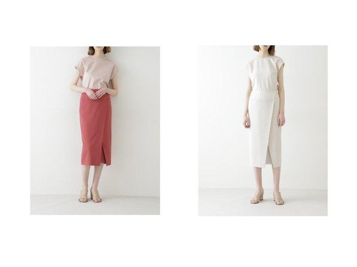 【BOSCH/ボッシュ】のCuハイストレッチセットアップスカート 【スカート】おすすめ!人気、トレンド・レディースファッションの通販 おすすめ人気トレンドファッション通販アイテム 人気、トレンドファッション・服の通販 founy(ファニー) ファッション Fashion レディースファッション WOMEN セットアップ Setup スカート Skirt キュプラ フラット ラップ |ID:crp329100000044069