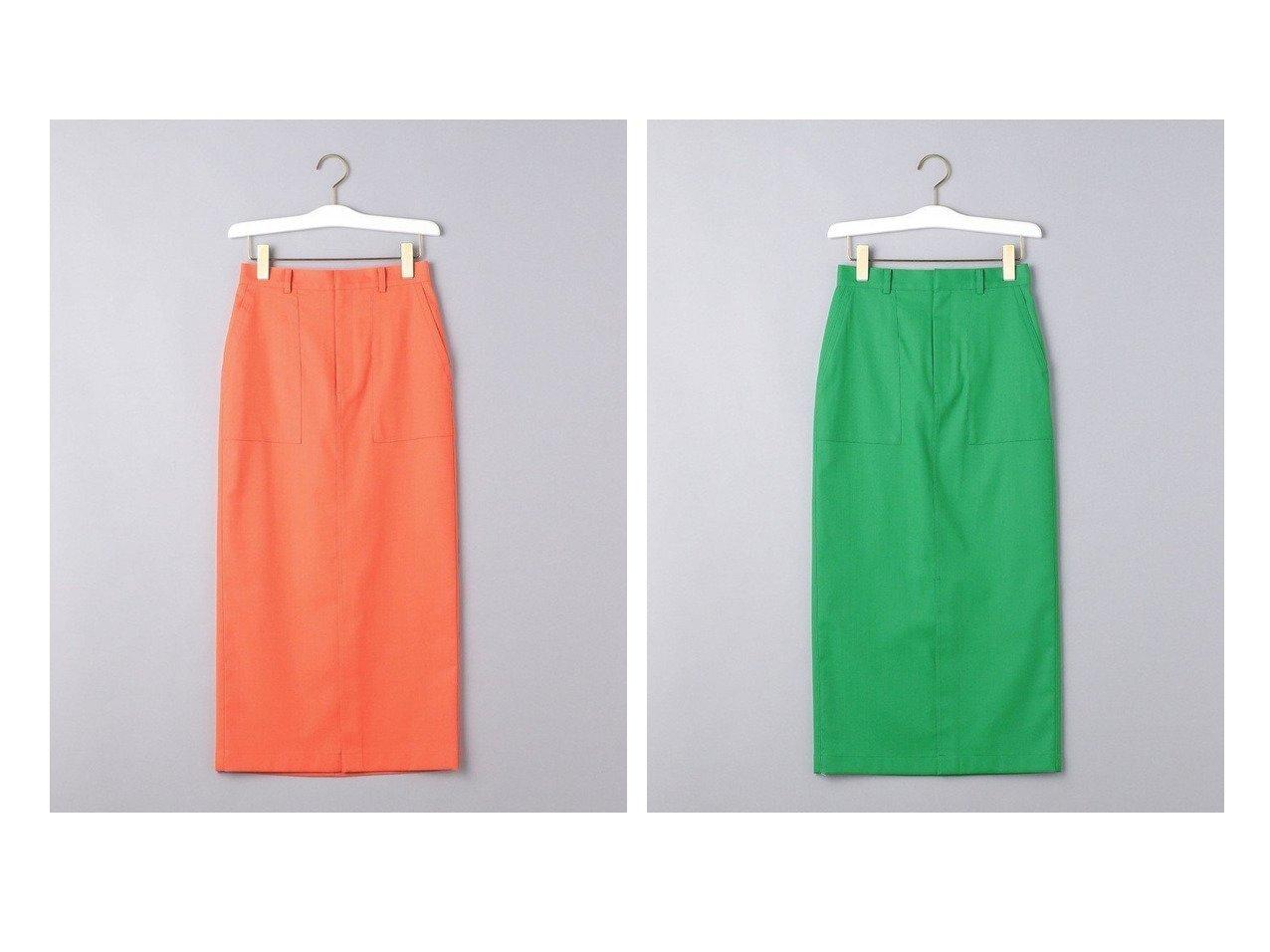【UNITED ARROWS/ユナイテッドアローズ】のUWSC ポケット タイトスカート 【スカート】おすすめ!人気、トレンド・レディースファッションの通販 おすすめで人気の流行・トレンド、ファッションの通販商品 インテリア・家具・メンズファッション・キッズファッション・レディースファッション・服の通販 founy(ファニー) https://founy.com/ ファッション Fashion レディースファッション WOMEN スカート Skirt おすすめ Recommend サンダル スニーカー スリット タイトスカート パッチ フィット ポケット |ID:crp329100000044074
