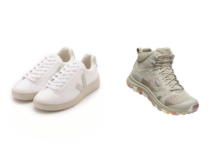 【KEEN/キーン】の(WOMEN)TERRADORA II MID WP&【emmi/エミ】の【Veja】URCA 【シューズ・靴】おすすめ!人気、トレンド・レディースファッションの通販 おすすめ人気トレンドファッション通販アイテム 人気、トレンドファッション・服の通販 founy(ファニー)  ファッション Fashion レディースファッション WOMEN アウトドア クッション 軽量 シューズ スニーカー スリッポン フィット メッシュ ライニング レース コーティング パッチ |ID:crp329100000044088