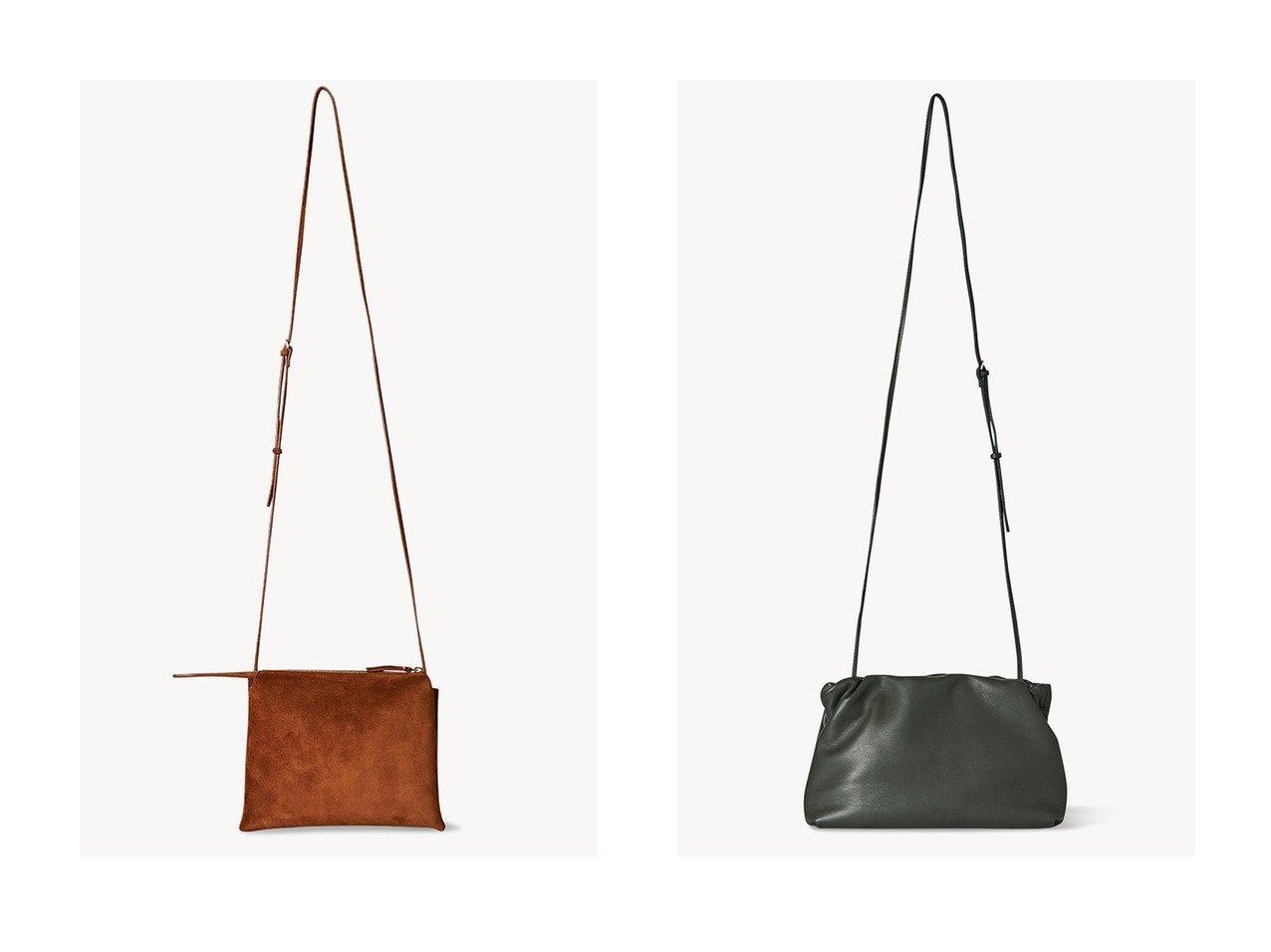 【THE ROW/ザ ロウ】のBOURSE 2wayクラッチバッグ&NU MINI TWIN スエードショルダーバッグ 【バッグ・鞄】おすすめ!人気、トレンド・レディースファッションの通販 おすすめで人気の流行・トレンド、ファッションの通販商品 インテリア・家具・メンズファッション・キッズファッション・レディースファッション・服の通販 founy(ファニー) https://founy.com/ ファッション Fashion レディースファッション WOMEN バッグ Bag ショルダー スエード ポシェット ロング クラッチ シャーリング フレーム ラップ 春 Spring |ID:crp329100000044104