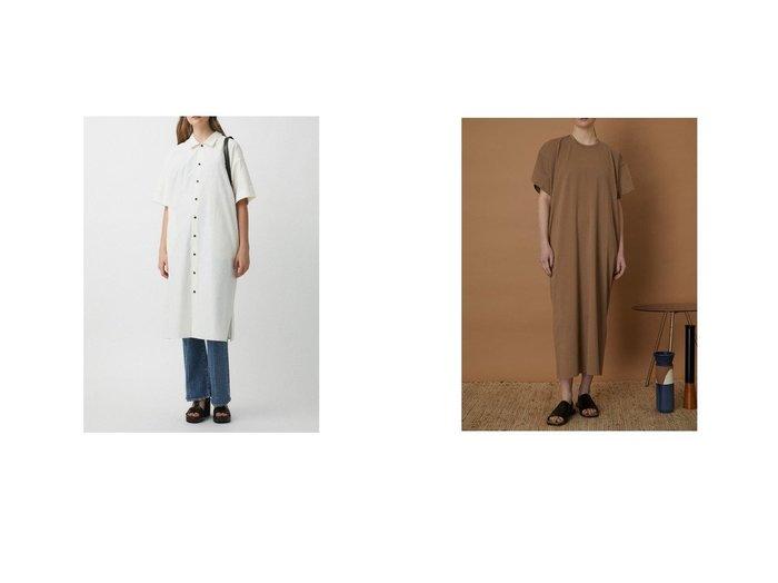 【moussy/マウジー】のBACK LACE UP SHIRT ドレス&【RIM.ARK/リムアーク】のBack volume maxi OP 【ワンピース・ドレス】おすすめ!人気、トレンド・レディースファッションの通販 おすすめ人気トレンドファッション通販アイテム 人気、トレンドファッション・服の通販 founy(ファニー)  ファッション Fashion レディースファッション WOMEN トップス・カットソー Tops/Tshirt シャツ/ブラウス Shirts/Blouses ワンピース Dress ドレス Party Dresses 2021年 2021 2021春夏・S/S SS/Spring/Summer/2021 S/S・春夏 SS・Spring/Summer おすすめ Recommend ドレス 春 Spring |ID:crp329100000044155
