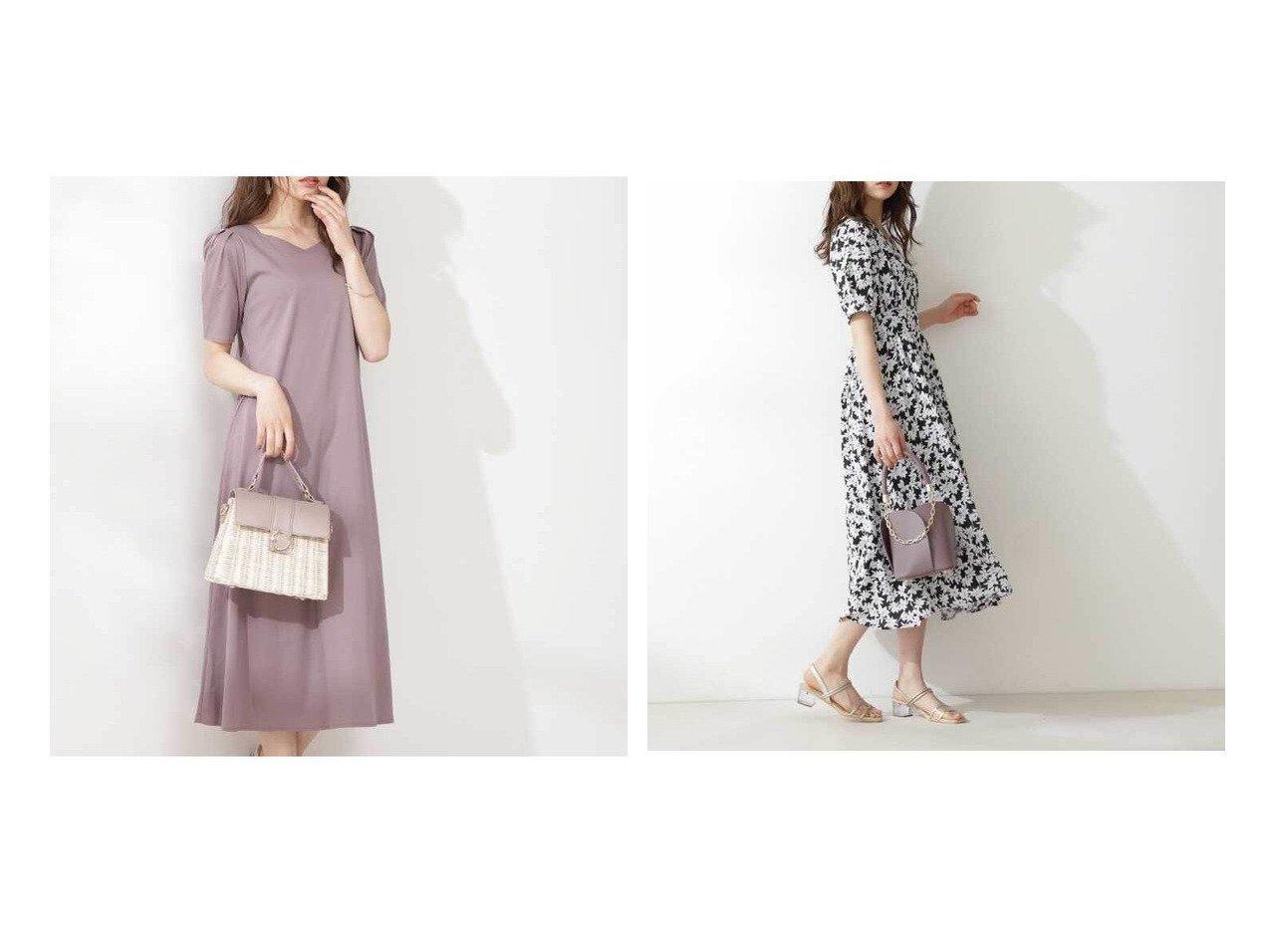 【PROPORTION BODY DRESSING/プロポーション ボディドレッシング】のバックボタンカットワンピース&フラワーマキシワンピース 【ワンピース・ドレス】おすすめ!人気、トレンド・レディースファッションの通販 おすすめで人気の流行・トレンド、ファッションの通販商品 インテリア・家具・メンズファッション・キッズファッション・レディースファッション・服の通販 founy(ファニー) https://founy.com/ ファッション Fashion レディースファッション WOMEN ワンピース Dress マキシワンピース Maxi Dress カットソー シェイプ リラックス シャーリング デコルテ フィット フラワー ロング |ID:crp329100000044172