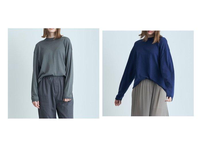 【ATON/エイトン】のSUVIN COTTON オーバーサイズセーター - UNISEX 【トップス・カットソー】おすすめ!人気、トレンド・レディースファッションの通販 おすすめ人気トレンドファッション通販アイテム 人気、トレンドファッション・服の通販 founy(ファニー) ファッション Fashion レディースファッション WOMEN トップス・カットソー Tops/Tshirt ニット Knit Tops 送料無料 Free Shipping UNISEX ジャージー セーター パターン |ID:crp329100000044280