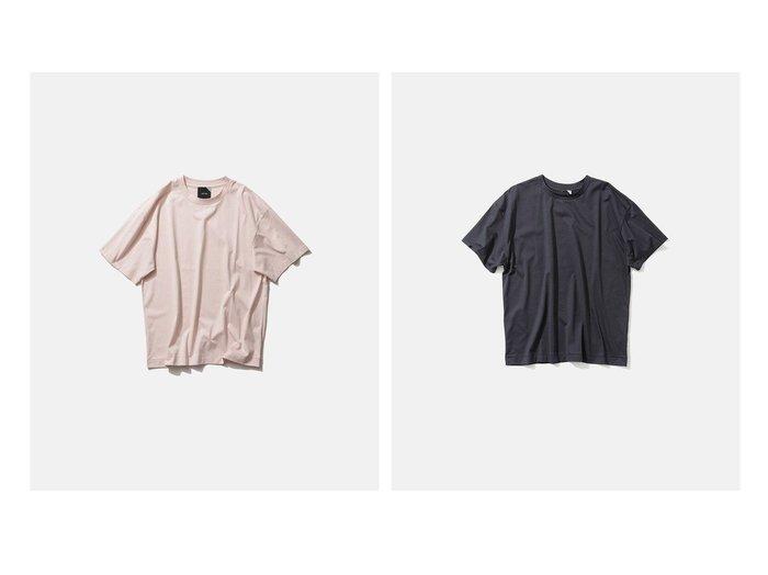 【ATON/エイトン】の2 オーバーサイズTシャツ - UNISEX 【トップス・カットソー】おすすめ!人気、トレンド・レディースファッションの通販 おすすめ人気トレンドファッション通販アイテム 人気、トレンドファッション・服の通販 founy(ファニー) ファッション Fashion レディースファッション WOMEN トップス・カットソー Tops/Tshirt シャツ/ブラウス Shirts/Blouses ロング / Tシャツ T-Shirts カットソー Cut and Sewn 送料無料 Free Shipping UNISEX インド カットソー ジャージー 再入荷 Restock/Back in Stock/Re Arrival |ID:crp329100000044283