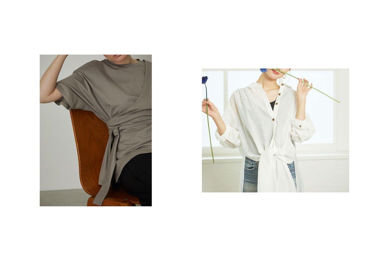 【RIM.ARK/リムアーク】のSH&【rienda/リエンダ】のオーバーロングSH MINT おすすめ!人気、トレンド・レディースファッションの通販 おすすめで人気の流行・トレンド、ファッションの通販商品 インテリア・家具・メンズファッション・キッズファッション・レディースファッション・服の通販 founy(ファニー) https://founy.com/ ファッション Fashion レディースファッション WOMEN 2021年 2021 2021春夏・S/S SS/Spring/Summer/2021 S/S・春夏 SS・Spring/Summer シンプル ベスト ペプラム ボックス 春 Spring  ID:crp329100000044377