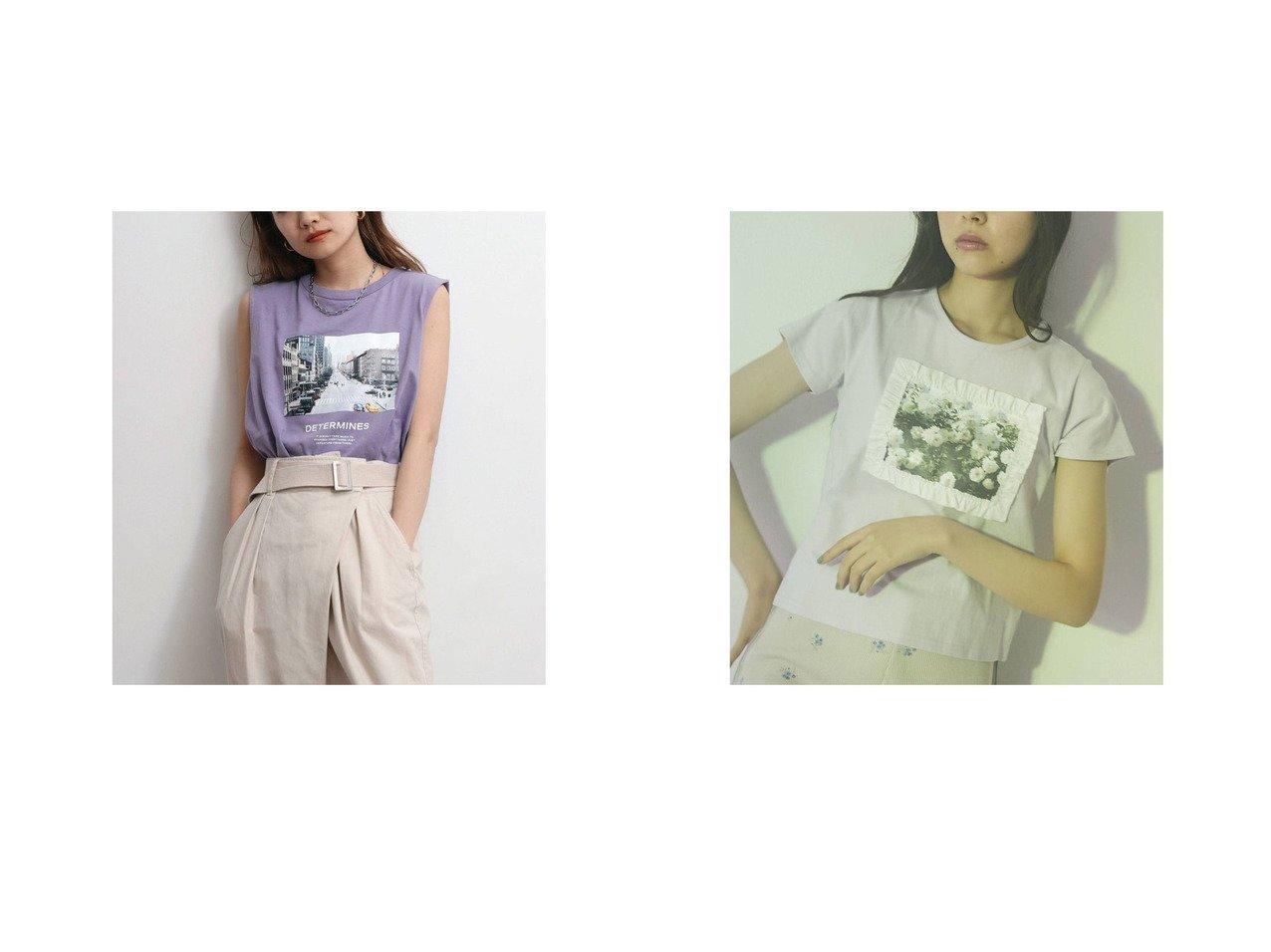 【UNGRID/アングリッド】のUngrid フォトボックスタンクトップ&【merry jenny/メリージェニー】のmerry jenny flower garden Tee おすすめ!人気、トレンド・レディースファッションの通販 おすすめで人気の流行・トレンド、ファッションの通販商品 インテリア・家具・メンズファッション・キッズファッション・レディースファッション・服の通販 founy(ファニー) https://founy.com/ ファッション Fashion レディースファッション WOMEN 春 Spring クール グラフィック タンク チェック デニム 定番 Standard バランス プリント ボックス 2021年 2021 S/S・春夏 SS・Spring/Summer 2021春夏・S/S SS/Spring/Summer/2021 コンパクト フリル  ID:crp329100000044379