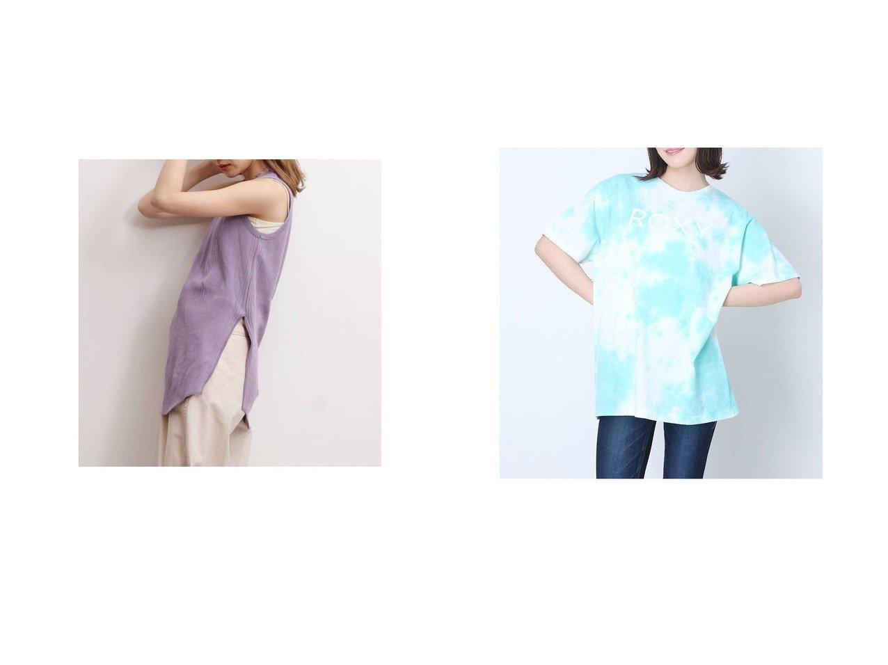 【ROXY/ロキシー】のRAVE&【UNGRID/アングリッド】のUngrid デザインカットタンクトップ おすすめ!人気、トレンド・レディースファッションの通販 おすすめで人気の流行・トレンド、ファッションの通販商品 インテリア・家具・メンズファッション・キッズファッション・レディースファッション・服の通販 founy(ファニー) https://founy.com/ ファッション Fashion レディースファッション WOMEN 2021年 2021 2021春夏・S/S SS/Spring/Summer/2021 S/S・春夏 SS・Spring/Summer インナー カッティング タンク テレコ バランス ベーシック ボトム ランダム 今季 春 Spring  ID:crp329100000044382