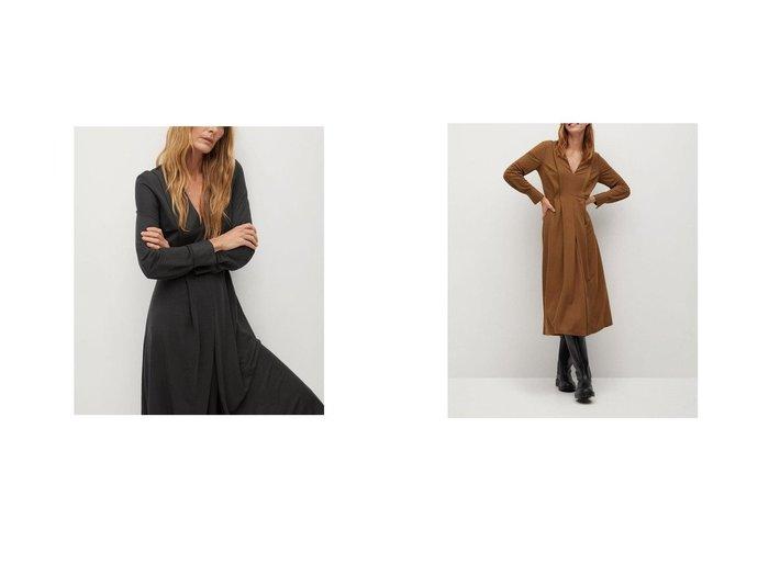 【MANGO/マンゴ】のロングワンピース .-- MIRAVENT おすすめ!人気、トレンド・レディースファッションの通販 おすすめ人気トレンドファッション通販アイテム 人気、トレンドファッション・服の通販 founy(ファニー) ファッション Fashion レディースファッション WOMEN ワンピース Dress フレア ロング 長袖 |ID:crp329100000044390