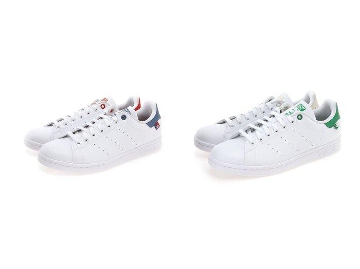 【adidas Originals / MEN/アディダス オリジナルス】のスタンスミス STAN SMITH アディダスオリジナルス FX5541 FX5548 【MEN】おすすめ!人気トレンド・男性、メンズファッションの通販  おすすめ人気トレンドファッション通販アイテム 人気、トレンドファッション・服の通販 founy(ファニー)  ファッション Fashion メンズファッション MEN シューズ・靴 Shoes/Men スニーカー Sneakers シューズ シンプル ストライプ スニーカー スポーツ スリッポン 定番 Standard ミックス |ID:crp329100000044521