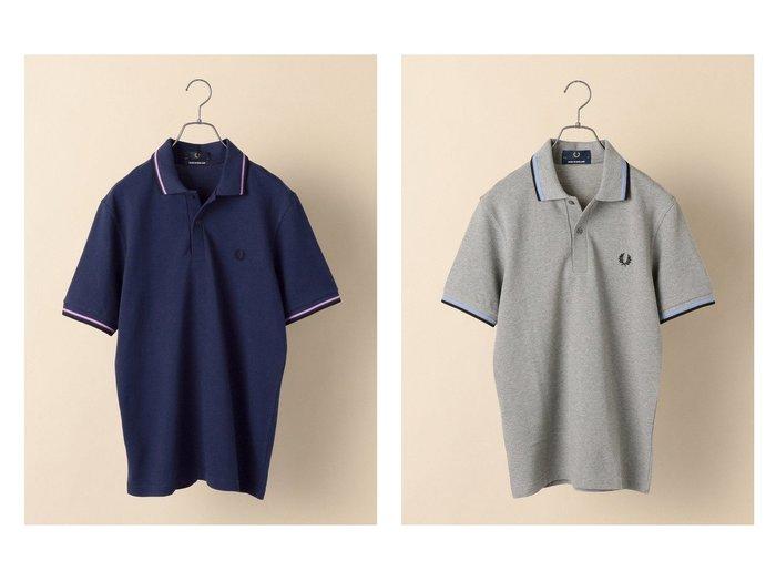 【SHIPS / MEN/シップス】のFRED PERRY 【M12】ENGLAND ポロシャツ 【MEN】おすすめ!人気トレンド・男性、メンズファッションの通販  おすすめ人気トレンドファッション通販アイテム 人気、トレンドファッション・服の通販 founy(ファニー)  ファッション Fashion メンズファッション MEN トップス・カットソー Tops/Tshirt/Men シャツ Shirts ポロシャツ Polo Shirts カットソー ベスト ポロシャツ ロンドン |ID:crp329100000044525