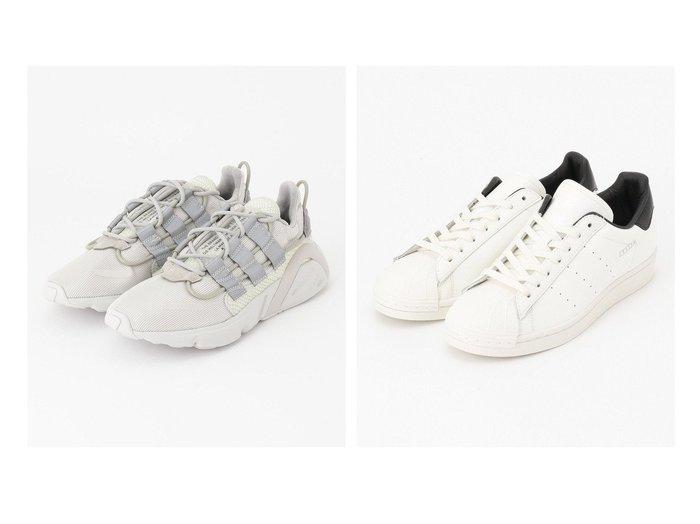 【JOSEPH HOMME / MEN/ジョゼフ オム】の【adidas】LXCON&【adidas】 SUPERSTAR PURE 【MEN】おすすめ!人気トレンド・男性、メンズファッションの通販  おすすめ人気トレンドファッション通販アイテム 人気、トレンドファッション・服の通販 founy(ファニー) ファッション Fashion メンズファッション MEN シューズ・靴 Shoes/Men スニーカー Sneakers 送料無料 Free Shipping シューズ スニーカー メッシュ レース 再入荷 Restock/Back in Stock/Re Arrival 軽量 クラシック 今季 スエード ストライプ 定番 Standard ニューヨーク 人気 モノトーン ロンドン |ID:crp329100000044532