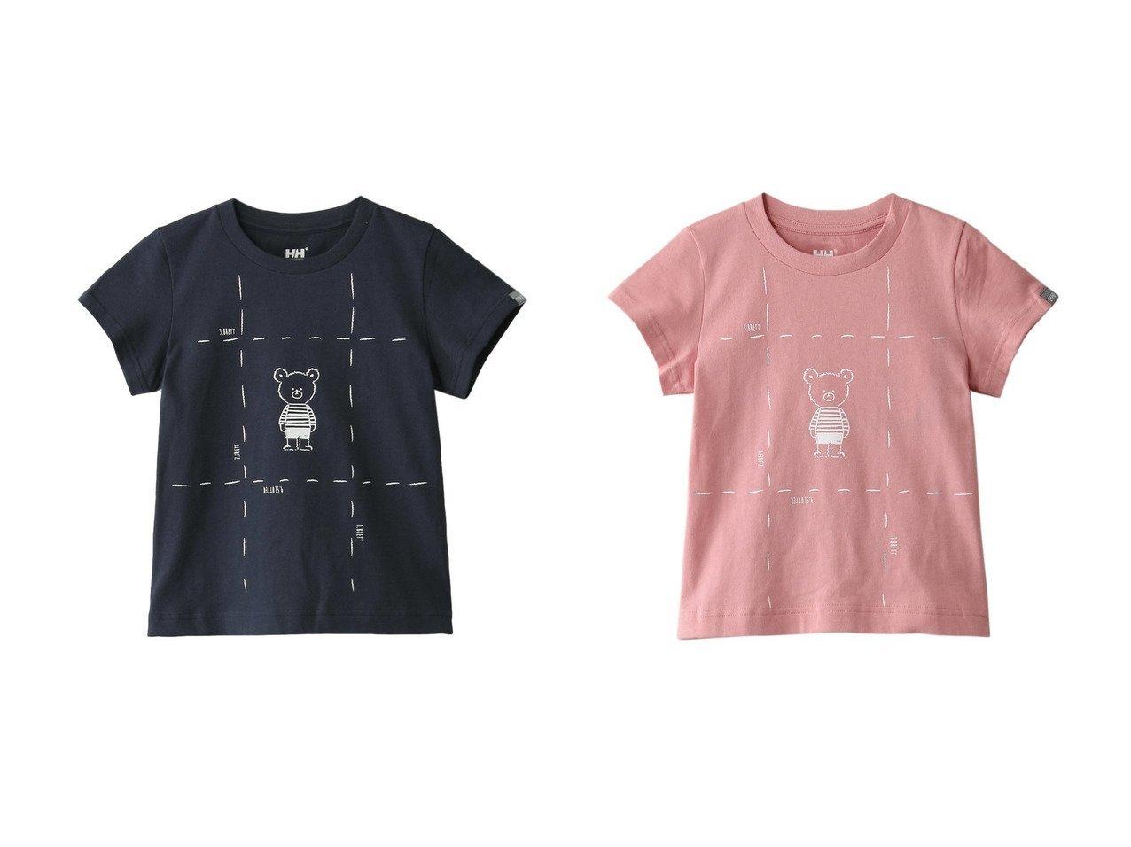 【HELLY HANSEN / KIDS/ヘリーハンセン】の【KIDS】折り畳み線つきヘリーベアティー 【KIDS】子供服のおすすめ!人気トレンド・キッズファッションの通販 おすすめで人気の流行・トレンド、ファッションの通販商品 インテリア・家具・メンズファッション・キッズファッション・レディースファッション・服の通販 founy(ファニー) https://founy.com/ ファッション Fashion キッズファッション KIDS トップス・カットソー Tops/Tees/Kids グラフィック フロント  ID:crp329100000044544