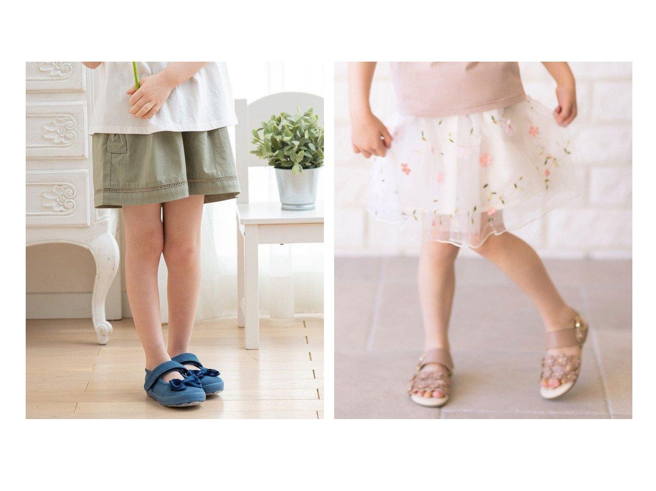 【anyFAM / KIDS/エニファム】の花モチーフチュールスカート&リボンポケット ショートパンツ 【KIDS】子供服のおすすめ!人気トレンド・キッズファッションの通販 おすすめで人気の流行・トレンド、ファッションの通販商品 インテリア・家具・メンズファッション・キッズファッション・レディースファッション・服の通販 founy(ファニー) https://founy.com/ ファッション Fashion キッズファッション KIDS ボトムス Bottoms/Kids ガーリー ショート シンプル 人気 ポケット モチーフ リボン レース 再入荷 Restock/Back in Stock/Re Arrival 送料無料 Free Shipping エレガント スウィート タイツ ダウン チュール フォーマル フラワー レギンス ロマンティック おすすめ Recommend  ID:crp329100000044556
