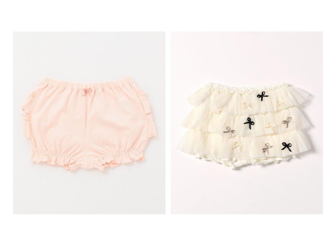 【TOCCA BAMBINI / KIDS/トッカ バンビーニ】の【BABY】フリル ブルマー&【BABY】RIBBONブルマー 【BABY】ベビー服のおすすめ!人気、キッズファッションの通販 おすすめで人気の流行・トレンド、ファッションの通販商品 インテリア・家具・メンズファッション・キッズファッション・レディースファッション・服の通販 founy(ファニー) https://founy.com/ ファッション Fashion キッズファッション KIDS ボトムス Bottoms/Kids 送料無料 Free Shipping アンダー カットソー シンプル チュニック フリル ベビー ベーシック リボン ローズ おすすめ Recommend ギャザー シルク チュール  ID:crp329100000044638