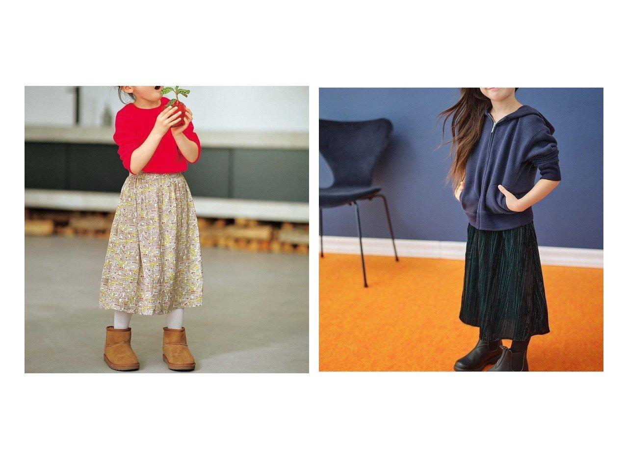 【KUMIKYOKU / KIDS/組曲】の【100-120cm】ミュルーズ プリント スカート&【100-120cm】ベルベットロングスカート 【KIDS】子供服のおすすめ!人気トレンド・キッズファッションの通販 おすすめで人気の流行・トレンド、ファッションの通販商品 インテリア・家具・メンズファッション・キッズファッション・レディースファッション・服の通販 founy(ファニー) https://founy.com/ ファッション Fashion キッズファッション KIDS ヴィンテージ 洗える 秋 Autumn/Fall ギャザー サテン プリント ベーシック ロング A/W・秋冬 AW・Autumn/Winter・FW・Fall-Winter 2020年 2020 2020-2021秋冬・A/W AW・Autumn/Winter・FW・Fall-Winter/2020-2021 送料無料 Free Shipping  ID:crp329100000044704