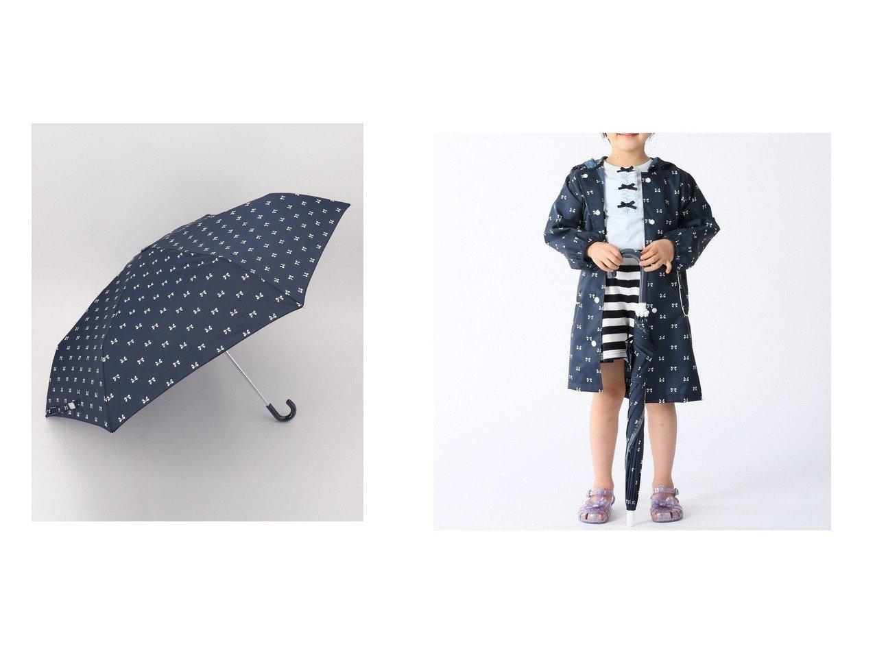 【KUMIKYOKU / KIDS/組曲】の【TODDLER雑貨】レインコート&【KIDS雑貨】キッズ折り畳み傘 【KIDS】子供服のおすすめ!人気トレンド・キッズファッションの通販 おすすめで人気の流行・トレンド、ファッションの通販商品 インテリア・家具・メンズファッション・キッズファッション・レディースファッション・服の通販 founy(ファニー) https://founy.com/ ファッション Fashion キッズファッション KIDS アウター Coat Outerwear /Kids 送料無料 Free Shipping リボン 傘 ポンチョ リュック 巾着  ID:crp329100000044710