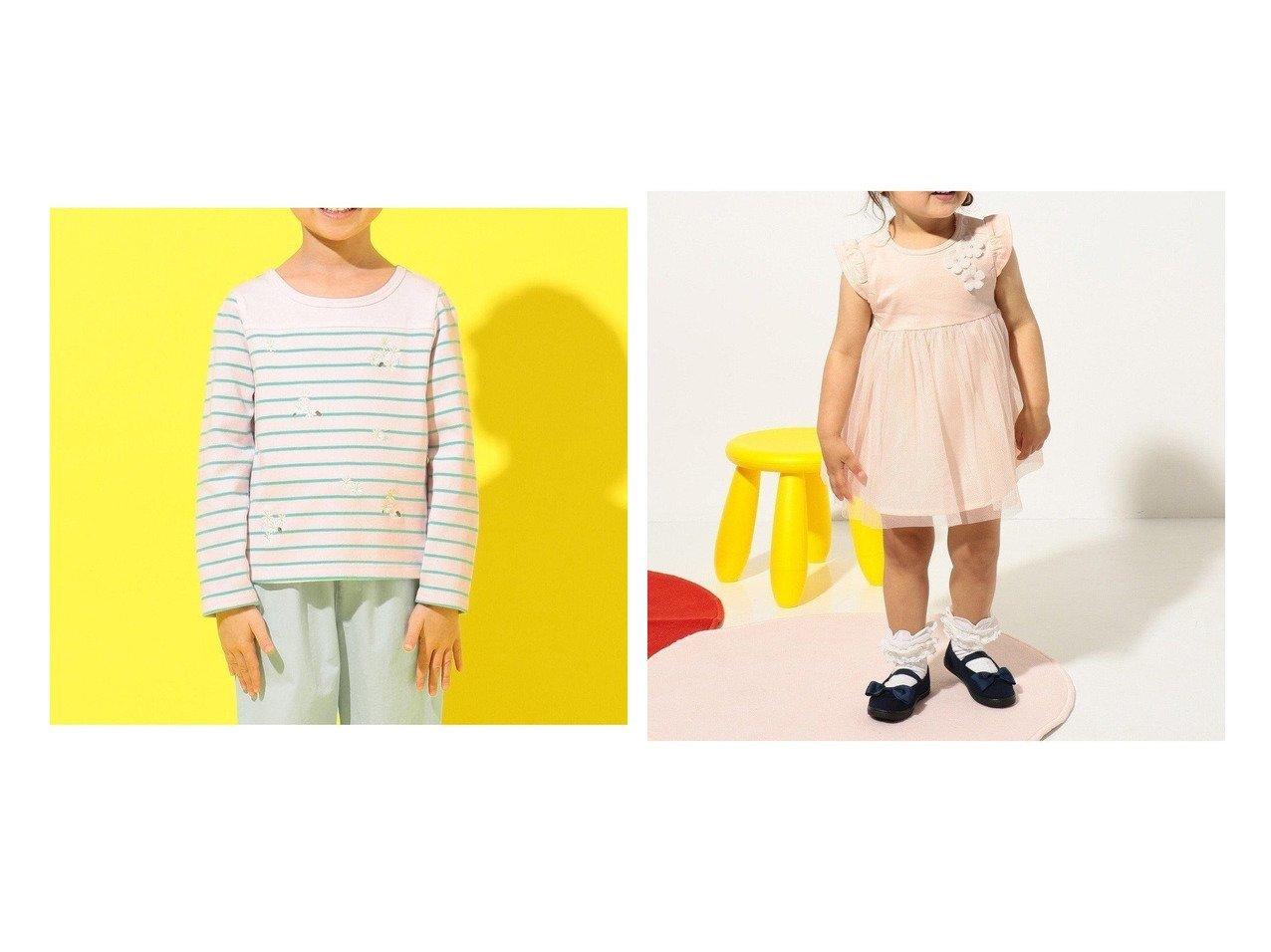 【KUMIKYOKU / KIDS/組曲】の【80-100cm】カミーユスムースチュール ワンピース&レーシーリボンカチューシャ 【KIDS】子供服のおすすめ!人気トレンド・キッズファッションの通販 おすすめで人気の流行・トレンド、ファッションの通販商品 インテリア・家具・メンズファッション・キッズファッション・レディースファッション・服の通販 founy(ファニー) https://founy.com/ ファッション Fashion キッズファッション KIDS ワンピース Dress/Kids 送料無料 Free Shipping アクセサリー ストーン リボン レース チュール ドレス フラワー フリル モチーフ  ID:crp329100000044715