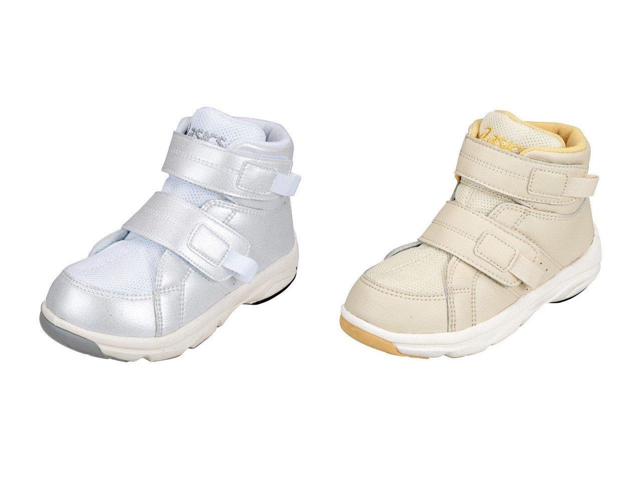 【ASICS WALKING / KIDS/アシックス ランウォーク】のGD.WALKER R MINI-HI&GD.WALKER R MINI-HI 【KIDS】子供服のおすすめ!人気トレンド・キッズファッションの通販  おすすめで人気の流行・トレンド、ファッションの通販商品 インテリア・家具・メンズファッション・キッズファッション・レディースファッション・服の通販 founy(ファニー) https://founy.com/ ファッション Fashion キッズファッション KIDS 送料無料 Free Shipping シューズ フィット 抗菌 |ID:crp329100000044839