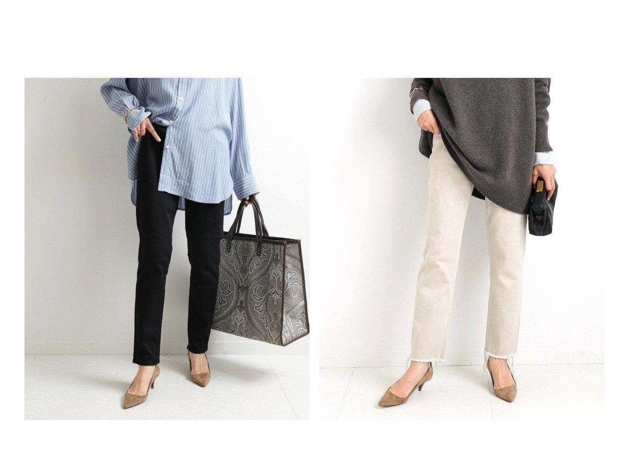 【IENA/イエナ】の【ヤヌーク】HIGH WAIST ANNETTE 57101218&【ヤヌーク】RUTH スリムテーパード デニムパンツ 【パンツ】おすすめ!人気、トレンド・レディースファッションの通販 おすすめで人気の流行・トレンド、ファッションの通販商品 インテリア・家具・メンズファッション・キッズファッション・レディースファッション・服の通販 founy(ファニー) https://founy.com/ ファッション Fashion レディースファッション WOMEN パンツ Pants デニムパンツ Denim Pants シューズ ジーンズ スキニー ストレッチ デニム フィット フラット ワイド 2021年 2021 S/S・春夏 SS・Spring/Summer 2021春夏・S/S SS/Spring/Summer/2021 |ID:crp329100000045108