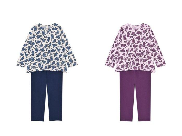 【Wing/ウィング】の【パジャマ】ペーズリー柄 ロング袖・ロングパンツ ウイング/ワコール EP7203 【パンツ】おすすめ!人気、トレンド・レディースファッションの通販 おすすめ人気トレンドファッション通販アイテム 人気、トレンドファッション・服の通販 founy(ファニー) ファッション Fashion レディースファッション WOMEN パンツ Pants 送料無料 Free Shipping おすすめ Recommend アンダー エレガント パジャマ ロング 無地 |ID:crp329100000045114