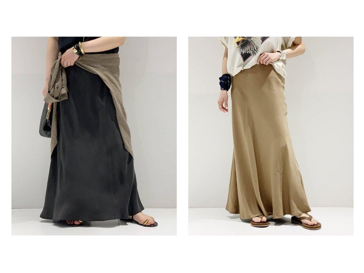 【AP STUDIO/エーピーストゥディオ】のSCENTOF MOLESKIN フレアスカート&New フィブリル キュプラスカート 【スカート】おすすめ!人気、トレンド・レディースファッションの通販 おすすめで人気の流行・トレンド、ファッションの通販商品 インテリア・家具・メンズファッション・キッズファッション・レディースファッション・服の通販 founy(ファニー) https://founy.com/ ファッション Fashion レディースファッション WOMEN スカート Skirt ロングスカート Long Skirt Aライン/フレアスカート Flared A-Line Skirts NEW・新作・新着・新入荷 New Arrivals とろみ カットソー サンダル フラット フレア リラックス ロング |ID:crp329100000045117