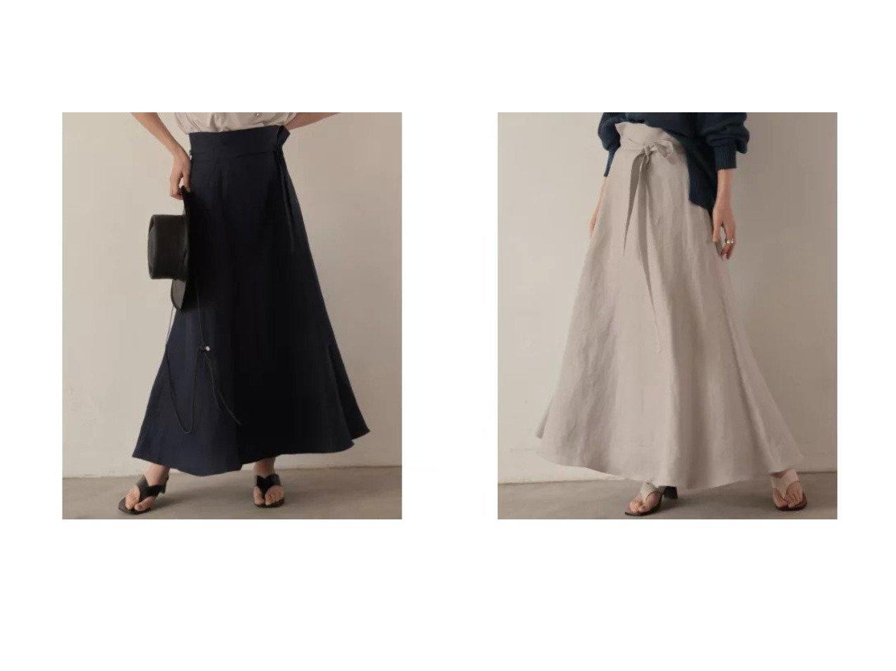 【Chaos/カオス】のCRヘリンボンリネンスカート 【スカート】おすすめ!人気、トレンド・レディースファッションの通販 おすすめで人気の流行・トレンド、ファッションの通販商品 インテリア・家具・メンズファッション・キッズファッション・レディースファッション・服の通販 founy(ファニー) https://founy.com/ ファッション Fashion レディースファッション WOMEN スカート Skirt フレア ヘリンボン マキシ リネン リボン ロング 洗える |ID:crp329100000045129