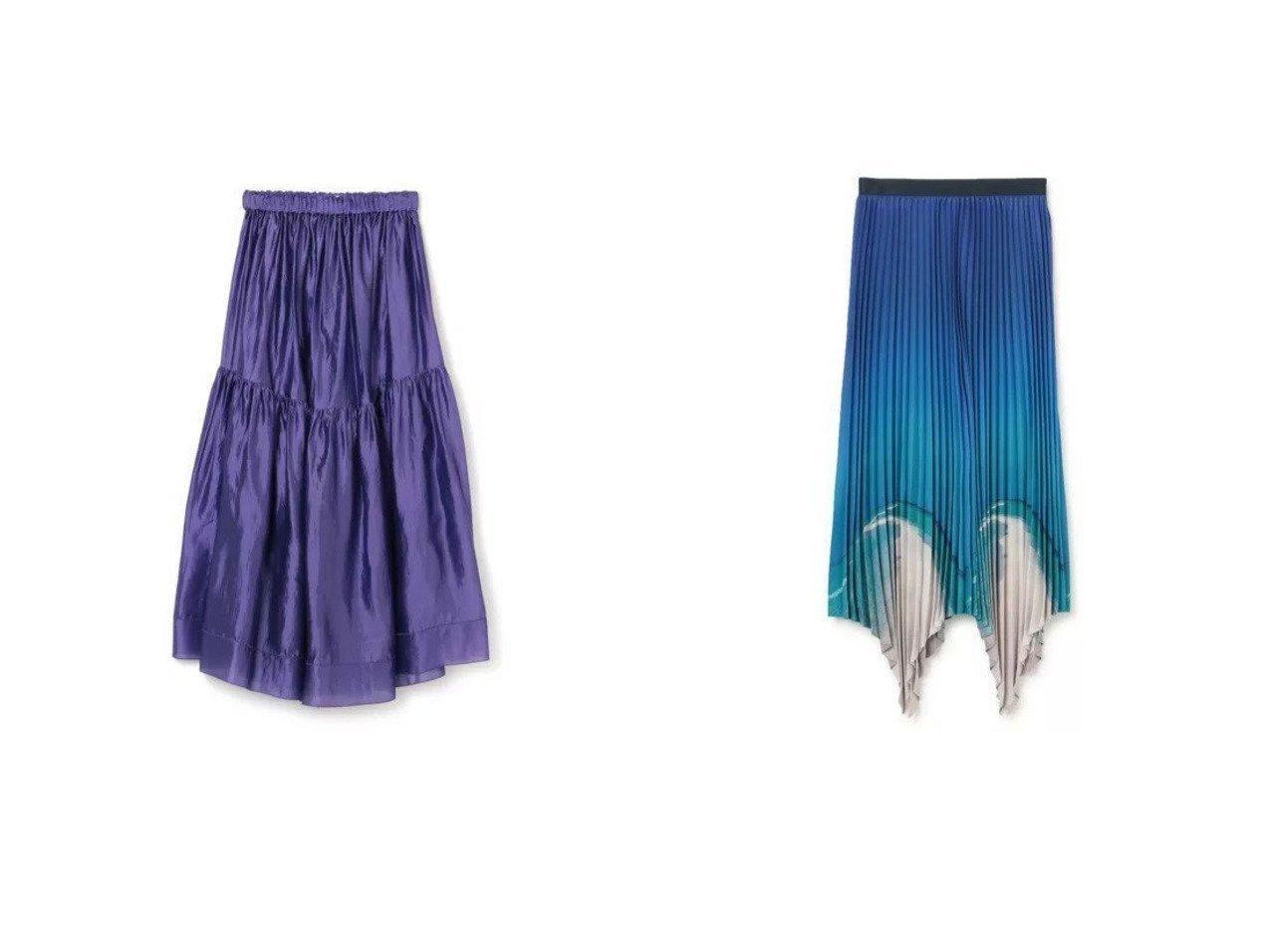 【BLAMINK/ブラミンク】のシルクギャザーロングスカート&【G.V.G.V./ジーヴィージーヴィ】のBEACH PRINT PLEATED SKIRT 【スカート】おすすめ!人気、トレンド・レディースファッションの通販 おすすめで人気の流行・トレンド、ファッションの通販商品 インテリア・家具・メンズファッション・キッズファッション・レディースファッション・服の通販 founy(ファニー) https://founy.com/ ファッション Fashion レディースファッション WOMEN スカート Skirt プリーツスカート Pleated Skirts ロングスカート Long Skirt 2021年 2021 2021春夏・S/S SS/Spring/Summer/2021 S/S・春夏 SS・Spring/Summer イレヘム プリント プリーツ マキシ ロング 今季 ギャザー シルク ランダム |ID:crp329100000045130