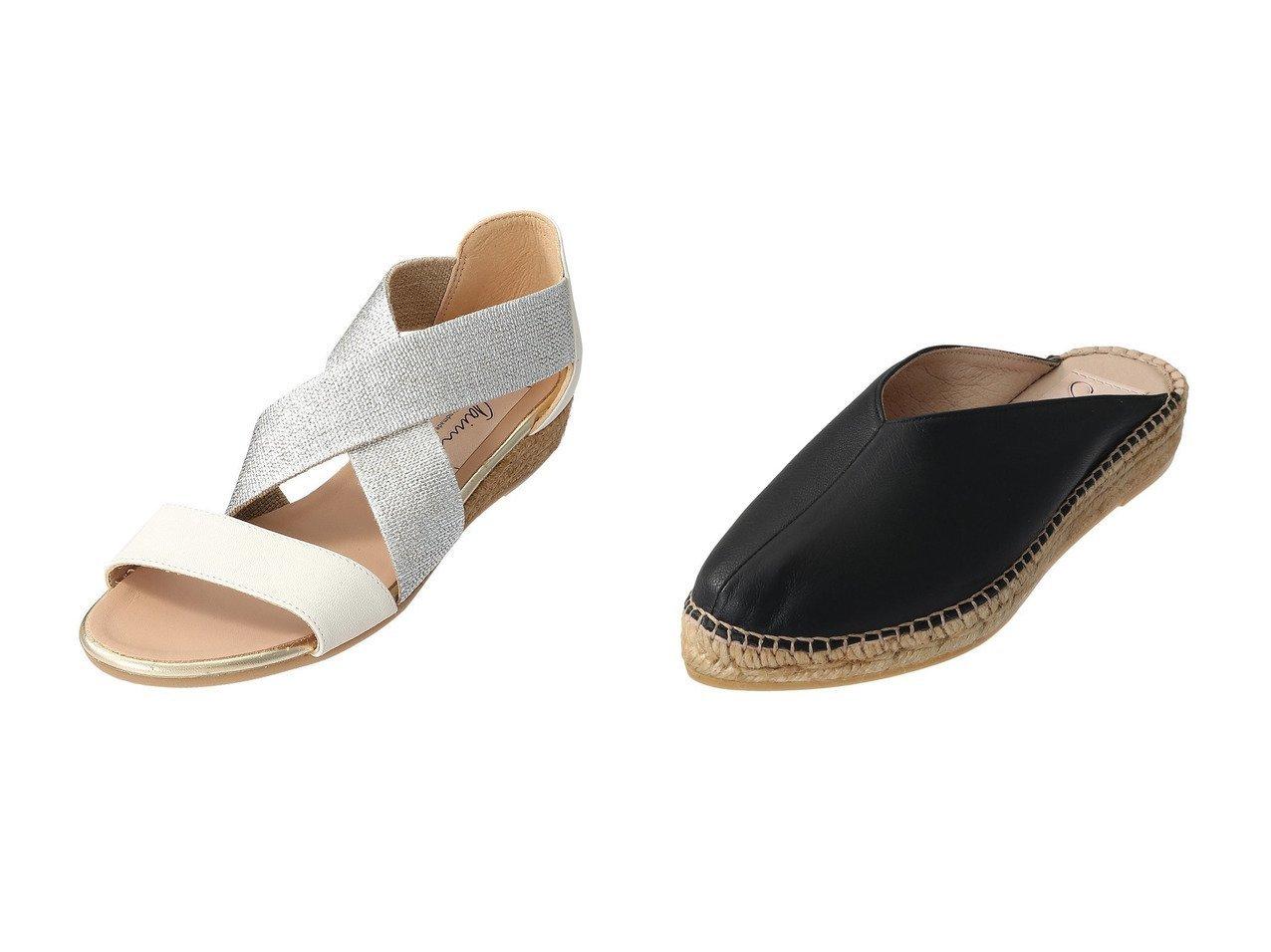 【Esmeralda/エスメラルダ】の【Gaimo】Vカットミュール&【Gaimo】エラスティックエスパドリーユサンダル 【シューズ・靴】おすすめ!人気、トレンド・レディースファッションの通販 おすすめで人気の流行・トレンド、ファッションの通販商品 インテリア・家具・メンズファッション・キッズファッション・レディースファッション・服の通販 founy(ファニー) https://founy.com/ ファッション Fashion レディースファッション WOMEN S/S・春夏 SS・Spring/Summer サンダル 春 Spring  ID:crp329100000045147