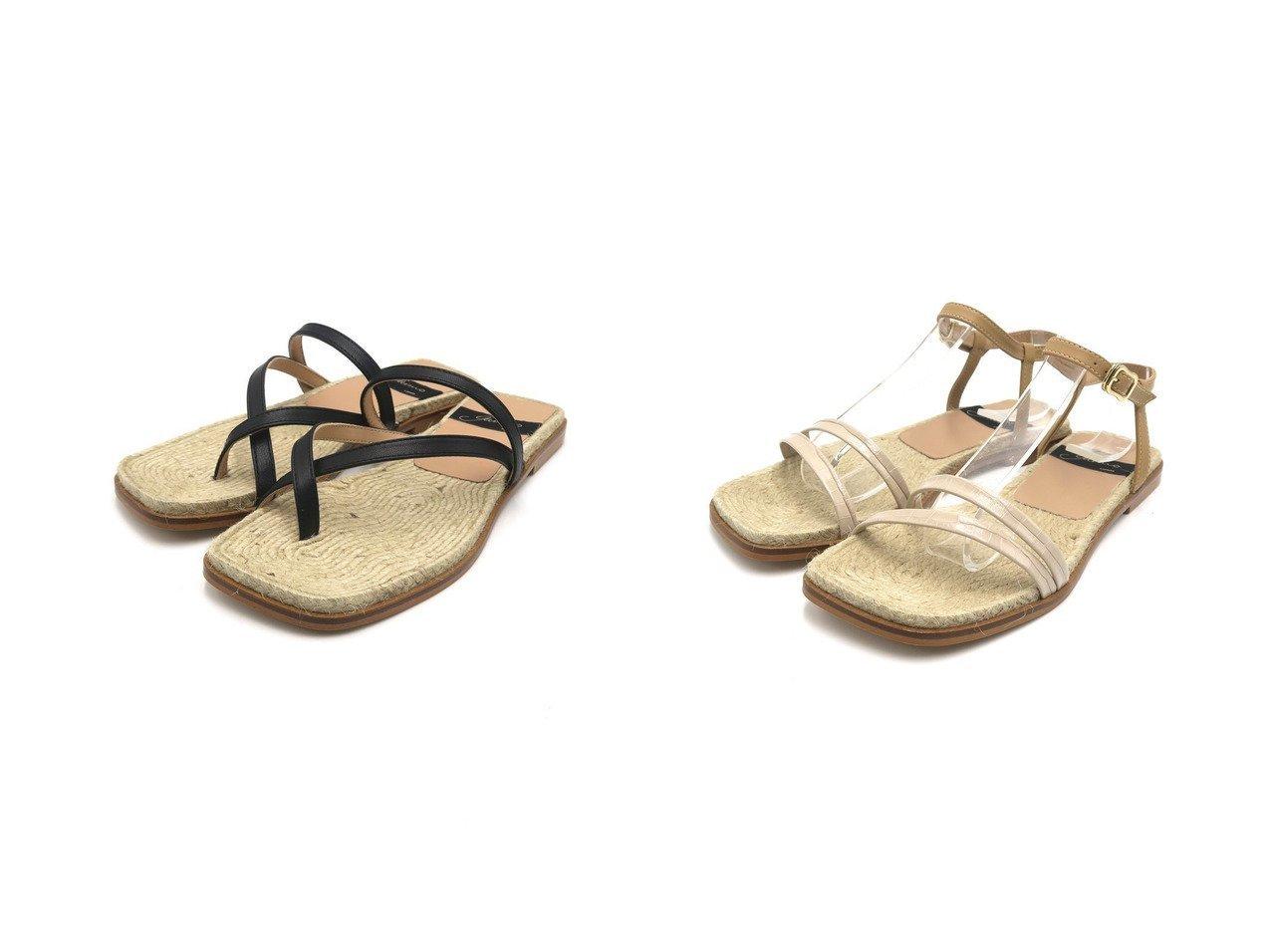 【Esmeralda/エスメラルダ】の【Gaimo】トングジュートサンダル&【Gaimo】ストラップフラットサンダル 【シューズ・靴】おすすめ!人気、トレンド・レディースファッションの通販 おすすめで人気の流行・トレンド、ファッションの通販商品 インテリア・家具・メンズファッション・キッズファッション・レディースファッション・服の通販 founy(ファニー) https://founy.com/ ファッション Fashion レディースファッション WOMEN サンダル ジュート ストラップ トレンド ラップ 人気 定番 Standard  ID:crp329100000045149