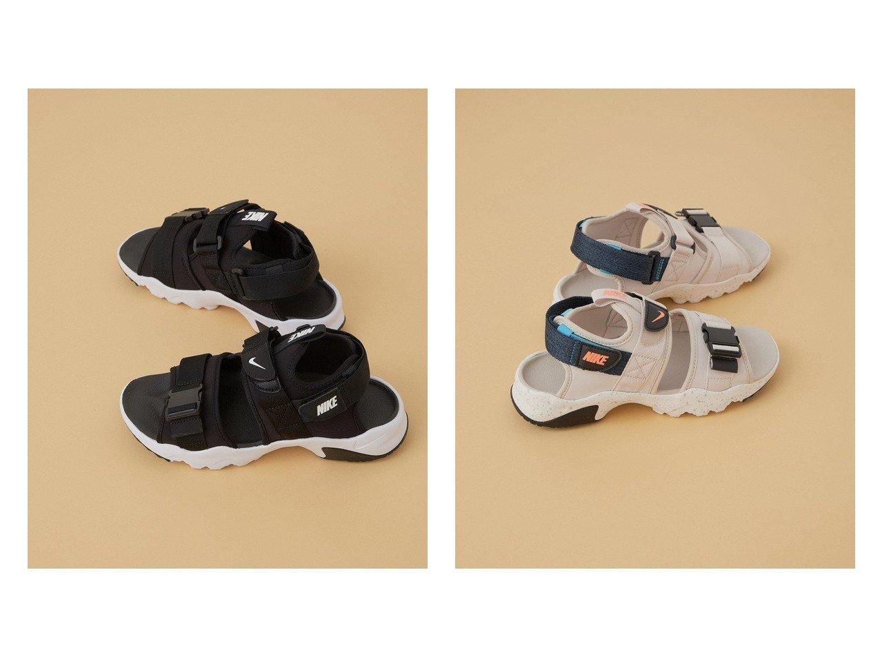 【ADAM ET ROPE'/アダム エ ロペ】の【NIKE】ナイキ キャニオンサンダル 【シューズ・靴】おすすめ!人気、トレンド・レディースファッションの通販 おすすめで人気の流行・トレンド、ファッションの通販商品 インテリア・家具・メンズファッション・キッズファッション・レディースファッション・服の通販 founy(ファニー) https://founy.com/ ファッション Fashion レディースファッション WOMEN サンダル シューズ スタイリッシュ フィット フォーム ミュール ラップ ラバー  ID:crp329100000045156
