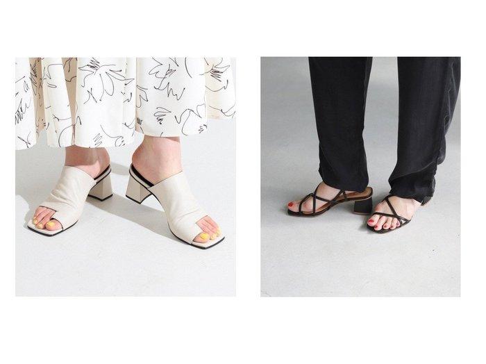 【Ray BEAMS/レイ ビームス】のヒール サンダル&【SLOBE IENA/スローブ イエナ】のSLOBE IENA スクエアヒールサンダル 【シューズ・靴】おすすめ!人気、トレンド・レディースファッションの通販 おすすめ人気トレンドファッション通販アイテム 人気、トレンドファッション・服の通販 founy(ファニー)  ファッション Fashion レディースファッション WOMEN サンダル シューズ トレンド フェミニン ミュール ラップ 2021年 2021 S/S・春夏 SS・Spring/Summer 2021春夏・S/S SS/Spring/Summer/2021 イタリア スタイリッシュ |ID:crp329100000045157