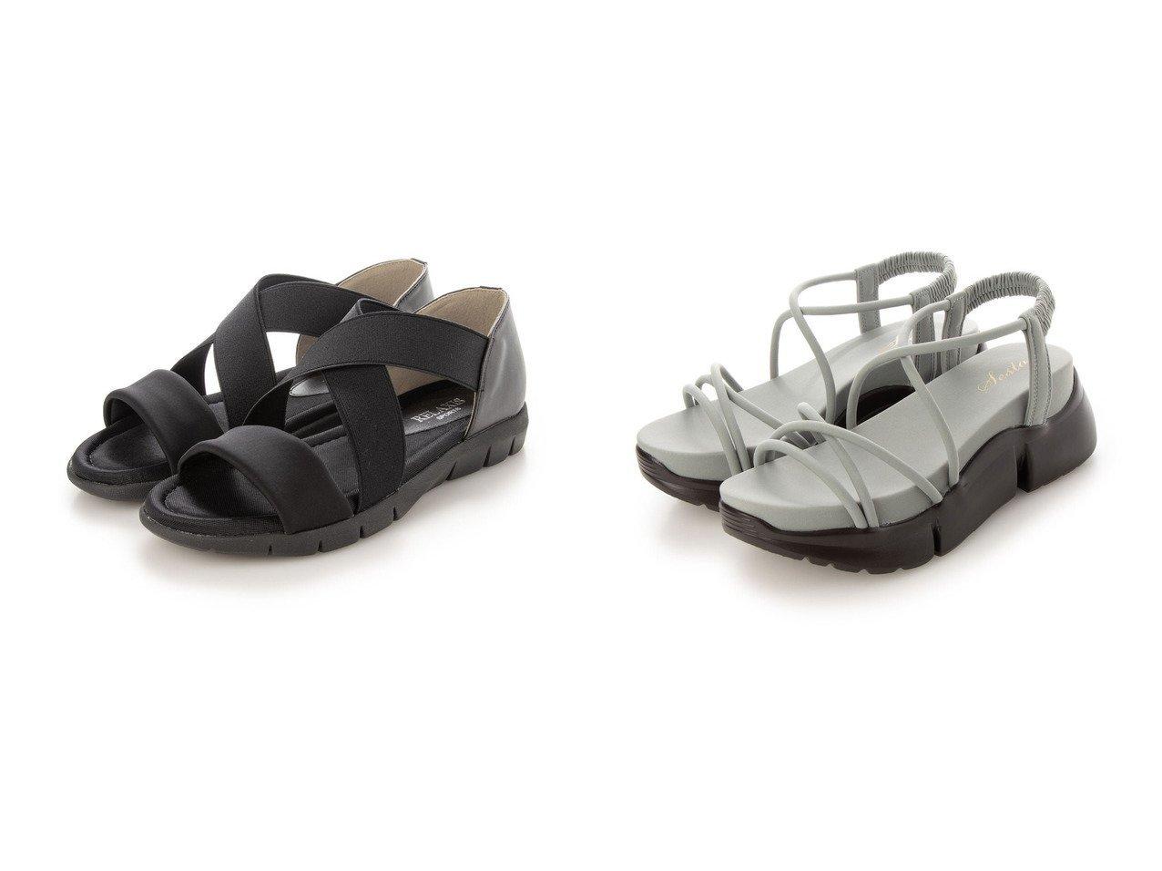 【SESTO/セスト】のコードストラップの厚底スポーツサンダル&【RELAXIS/リラクシス】の【リラクシス】クロスゴムサンダル 【シューズ・靴】おすすめ!人気、トレンド・レディースファッションの通販 おすすめで人気の流行・トレンド、ファッションの通販商品 インテリア・家具・メンズファッション・キッズファッション・レディースファッション・服の通販 founy(ファニー) https://founy.com/ ファッション Fashion レディースファッション WOMEN スポーツウェア Sportswear サンダル / ミュール Sandals 厚底 春 Spring 軽量 サンダル シューズ スポーツ スポーティ トレンド フォルム フラット モダン ラップ レース 楽ちん 2021年 2021 S/S・春夏 SS・Spring/Summer 2021春夏・S/S SS/Spring/Summer/2021 プチプライス・低価格 Affordable おすすめ Recommend |ID:crp329100000045163