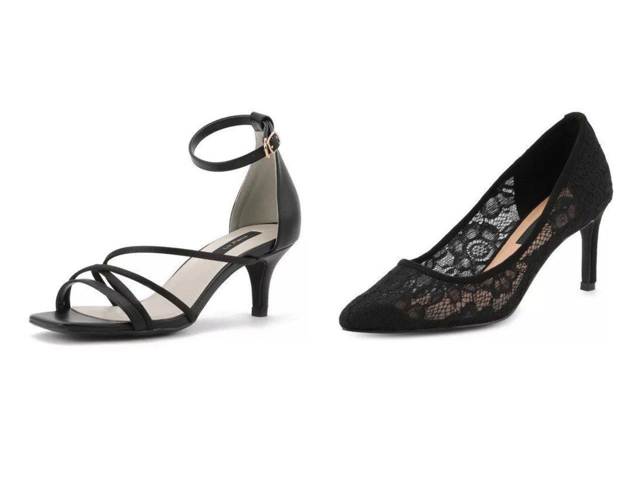 【Tiara/ティアラ】のレースパンプス&スキニーアンクルストラップサンダル 【シューズ・靴】おすすめ!人気、トレンド・レディースファッションの通販 おすすめで人気の流行・トレンド、ファッションの通販商品 インテリア・家具・メンズファッション・キッズファッション・レディースファッション・服の通販 founy(ファニー) https://founy.com/ ファッション Fashion レディースファッション WOMEN エレガント クロコ コンビ サテン サンダル シューズ ラップ フェミニン フォーマル レース |ID:crp329100000045165