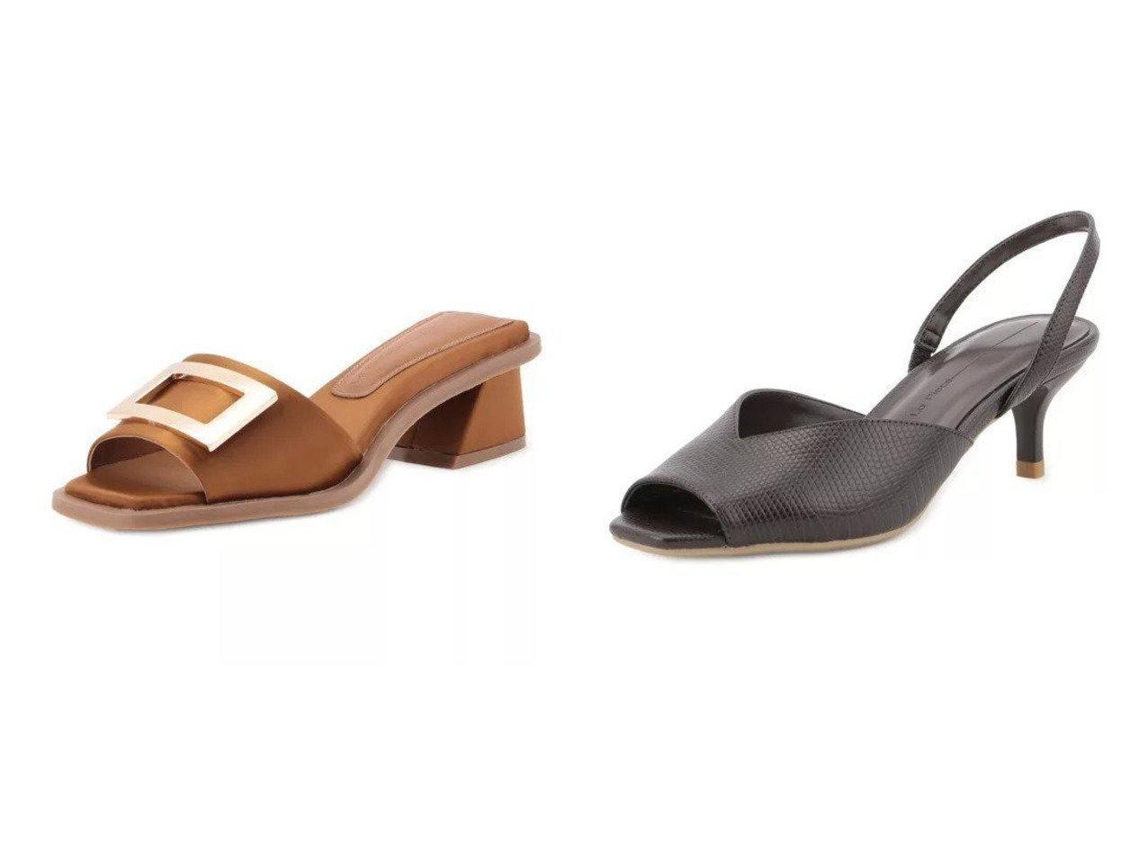 【Tiara/ティアラ】のバックルサンダル&スクエアトゥーサンダル 【シューズ・靴】おすすめ!人気、トレンド・レディースファッションの通販 おすすめで人気の流行・トレンド、ファッションの通販商品 インテリア・家具・メンズファッション・キッズファッション・レディースファッション・服の通販 founy(ファニー) https://founy.com/ ファッション Fashion レディースファッション WOMEN バッグ Bag クラシック サンダル シューズ フィット フォーマル ラップ サテン スクエア ダウン フォルム メタリック |ID:crp329100000045166